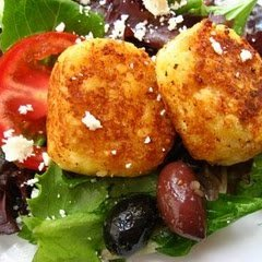 Crusted Goat Cheese Medallions recipe