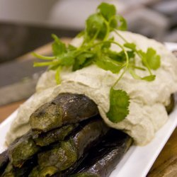 Eggplant With Walnut Sauce