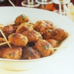 Lamb Koftas With Spicy Dipping Sauce
