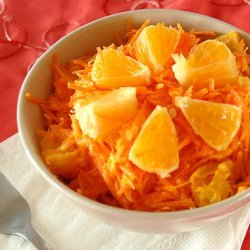 Russian Style Carrot And Orange Salad