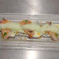 Fresh Hamachi Crudo Yuzu Aioli Truffle Essence Sha...