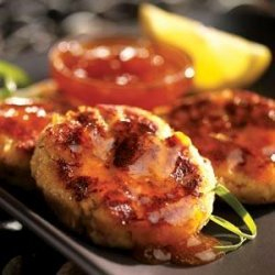 Crab Cakes With Apricot Sauce