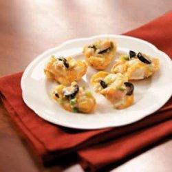 Cheddar Shrimp Nachos Scoops