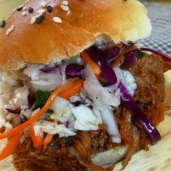 Pulled Pork Sliders With Asian Bbq Sauce