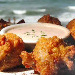 Conch Fritters With Dipping Sauce recipe
