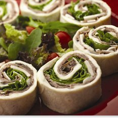 Crème De Brie Spinach And Roast Beef Pinwheels