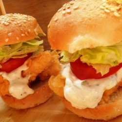 Texas Buffalo Chicken Sliders