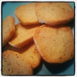 Thyme And Parmesan Shortbread