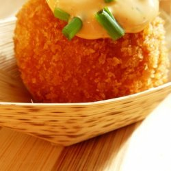 Jambalaya Arancini With Smoked Gouda