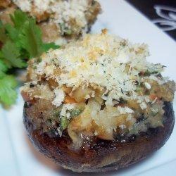 Asian-y Stuffed Mushrooms recipe