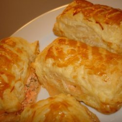 Double Salmon Puffs