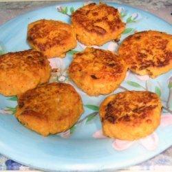 Garam Masala Sweet Potato Patties
