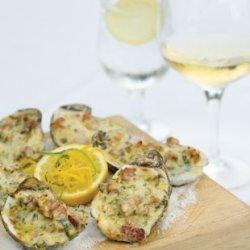 Oysters Lafayette