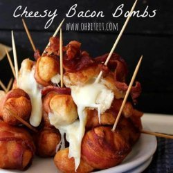 Cheesy Bacon Bombs: