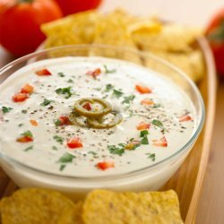 Jalapeno Queso With Goat Cheese recipe