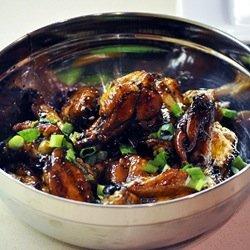 Sticky Honey Garlic Chicken Wings