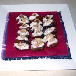 Stuffed Dates With Yogurt And Rose Petal Jam