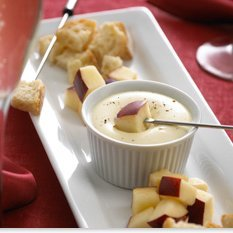 Crème De Brie Fondue For Two