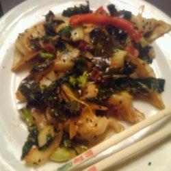 Dumpling Veggie Sizzle Fo-shizzle