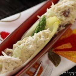 Citrus Fennel Chicken Salad Endive Boats With Goat...
