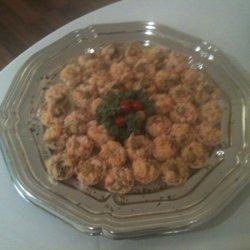 Citrus Shrimp In Phyllo Cups recipe