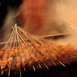 Lamb Sekuwa-charcoal Grilled Lamb-nepali Style