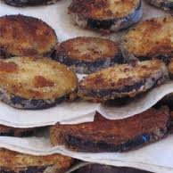 Grandma's Fried Eggplant