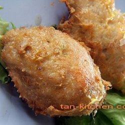 Fried Crab And Pork Stuffed Shells (poo Cha)