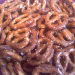 Savory Buttered Pretzels recipe