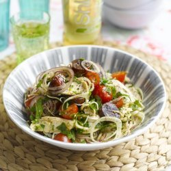 A Warm Chicken, Chorizo And Fennel Salad recipe