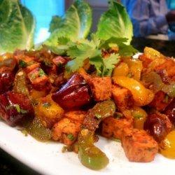 """Tandoori Tofu Masala """"salad"""""""