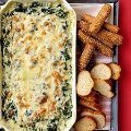Linger's Sausage Spinach Dip