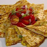 Spanner Crab And Corn Quesadilla recipe
