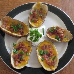 Baked Potato Skins recipe
