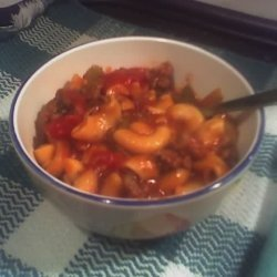 Goulash I Grew Up With recipe