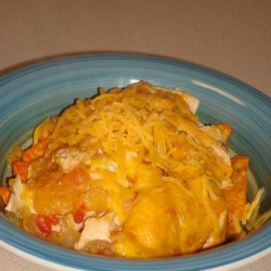 Cheesy Chicken Dorito Casserole