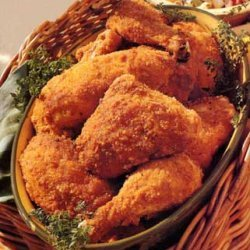 Touchdown Oven Fried Chicken recipe