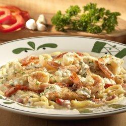 Olive Gardens Chicken Or Shrimp Carbonara