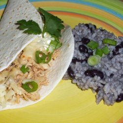 Cilantro Lime Chicken Tacos In The Slow Cooker