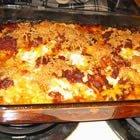 Layered Macaroni Casserole