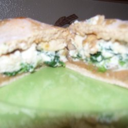 Chicken And Spinach Calzones