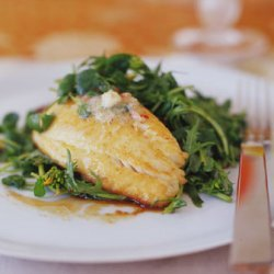 Pan-seared Tilapia Or Bass With Chile Lime Butter