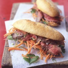 Vietnamese Steak Sandwich recipe