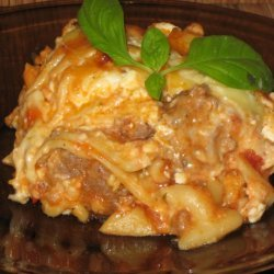 Not Pretty But Tasty Slow Cooker Lasagna-ci