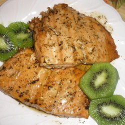 Lemon Glazed Salmon Fillet