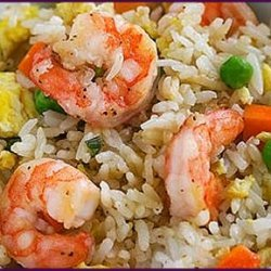 Wonderful Oriental Flair Shrimp Fried Rice recipe