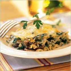 Zucchini And Basil Lasagna recipe