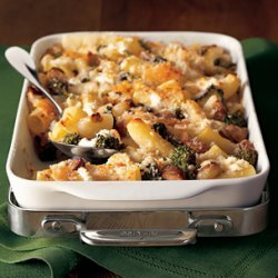 Baked Rigatoni With Sausage And Broccoli Rabe