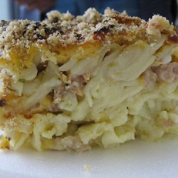 1950s Tuna Noodle Casserole