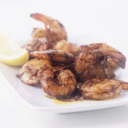 Grilled New Orleans-style Shrimp Skewers